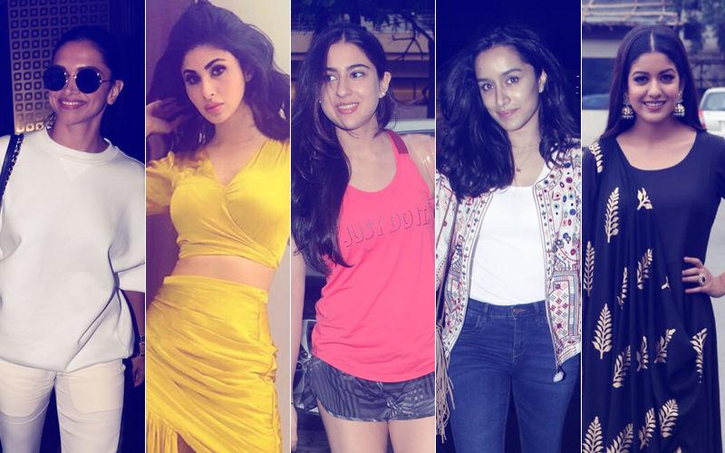 STUNNER OR BUMMER: Deepika Padukone, Mouni Roy, Sara Ali Khan, Shraddha Kapoor Or Ishita Dutta?