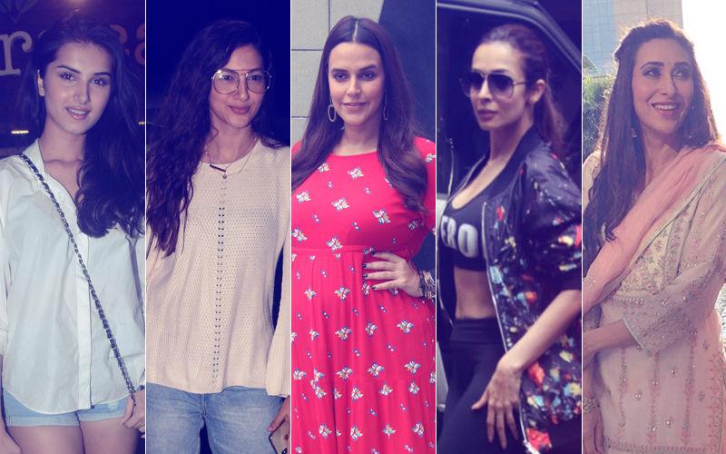 STUNNER OR BUMMER: Tara Sutaria, Gauahar Khan, Neha Dhupia, Malaika Arora Or Karisma Kapoor?