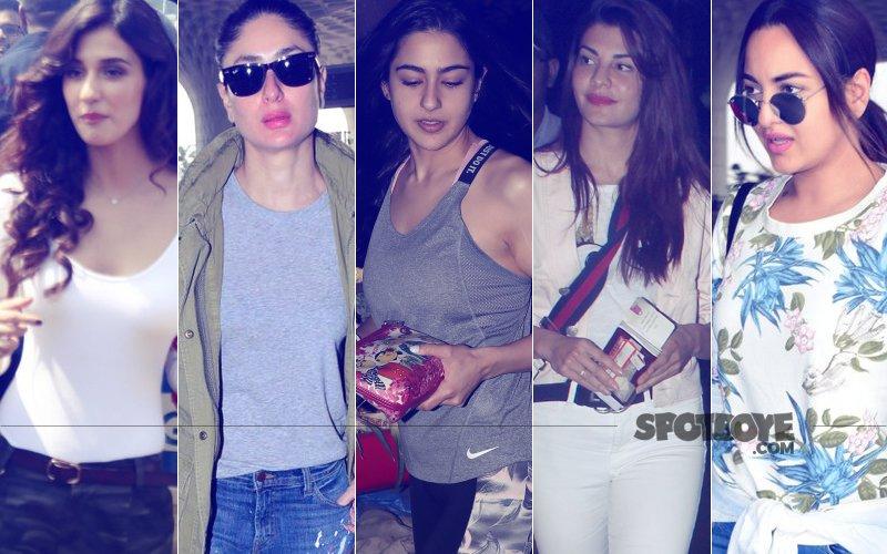 STUNNER OR BUMMER: Disha Patani, Kareena Kapoor, Sara Ali Khan, Jacqueline Fernandez Or Sonakshi Sinha?