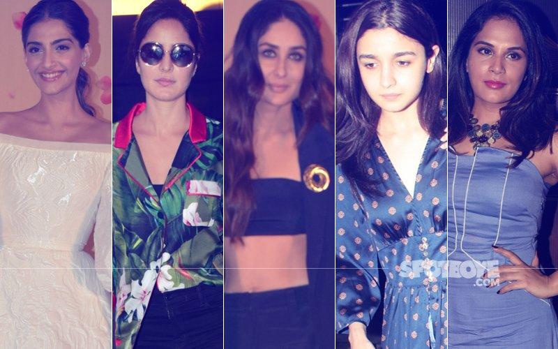 STUNNER OR BUMMER: Sonam Kapoor, Katrina Kaif, Kareena Kapoor, Alia Bhatt Or Richa Chadha?