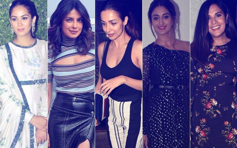 STUNNER OR BUMMER: Mira Rajput, Priyanka Chopra, Malaika Arora, Ileana D'Cruz Or Richa Chadha?