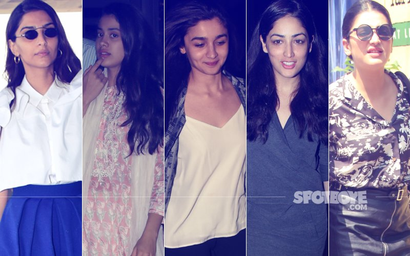 STUNNER OR BUMMER: Sonam Kapoor, Janhvi Kapoor, Alia Bhatt, Yami Gautam Or Shruti Haasan?