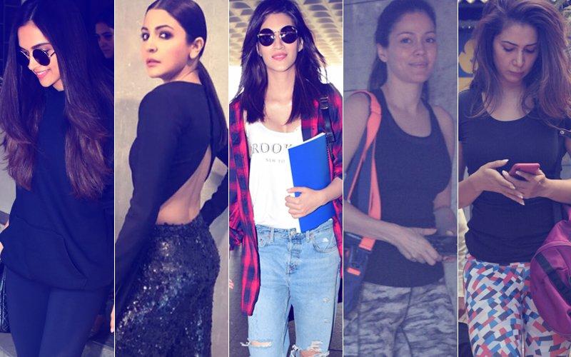 STUNNER OR BUMMER: Deepika Padukone, Anushka Sharma, Kriti Sanon, Waluscha De Sousa Or Kim Sharma?