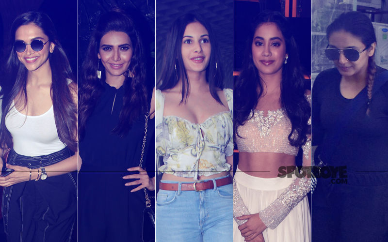 STUNNER OR BUMMER: Deepika Padukone, Karishma Tanna, Amyra Dastur, Janhvi Kapoor Or Huma Qureshi?