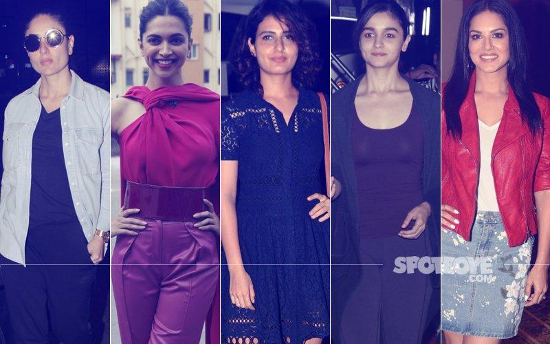 STUNNER OR BUMMER: Kareena Kapoor, Deepika Padukone, Fatima Sana Shaikh, Alia Bhatt Or Sunny Leone?