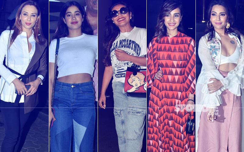 STUNNER OR BUMMER: Iulia Vantur, Janhvi Kapoor, Rani Mukerji, Patralekha Or Swara Bhasker?