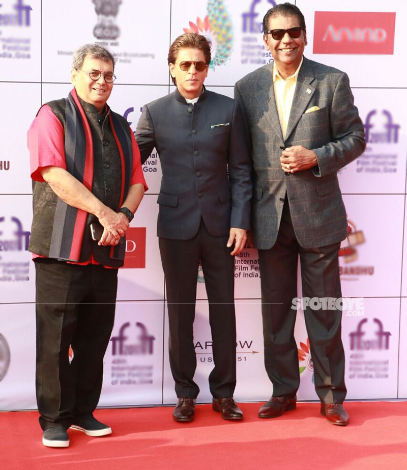 subhash ghai and shah rukh khan ay the iffi goa