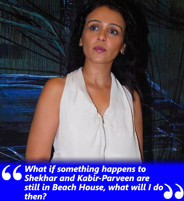 suchitra krishnamoorthi talks about kabir bedi and his wife staying in their beach house