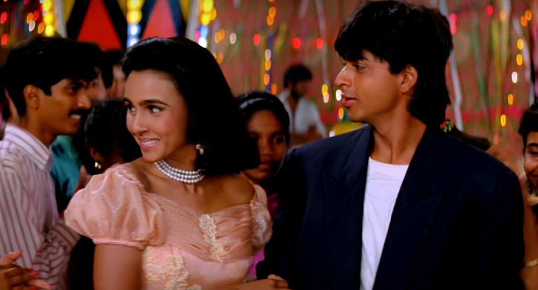 suchitra krishnamoorthi with shah rukh khan in kabhi haan kabhi naa