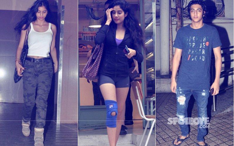 Here's What Suhana Khan, Jhanvi Kapoor & Ahaan Panday Did Last Night...