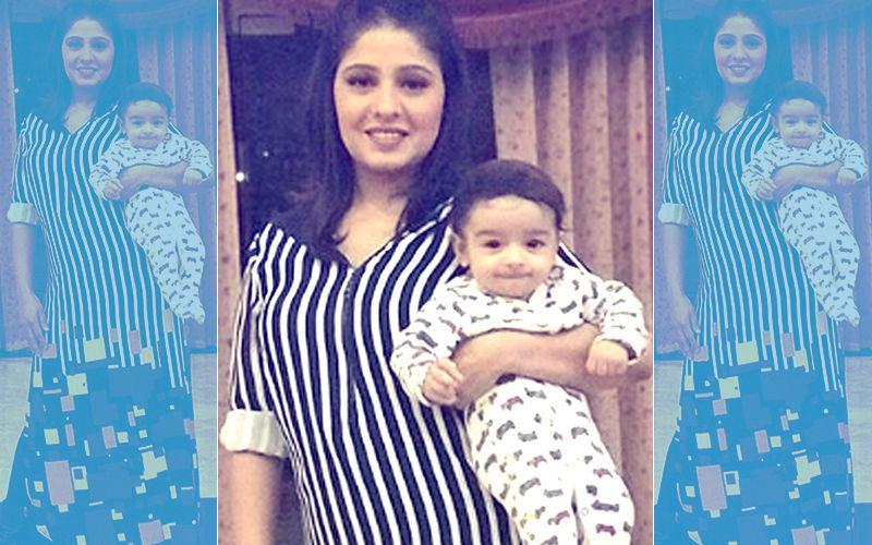 जन्म के 4 महीने बाद सुनिधि चौहान ने दिखाई अपने बेटे की पहली तस्वीर