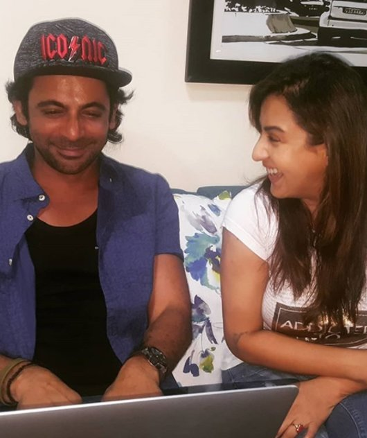 sunil grover and shilpa shinde image