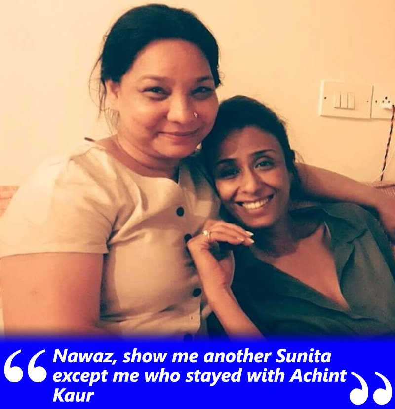 sunita rajwar and achint kaur