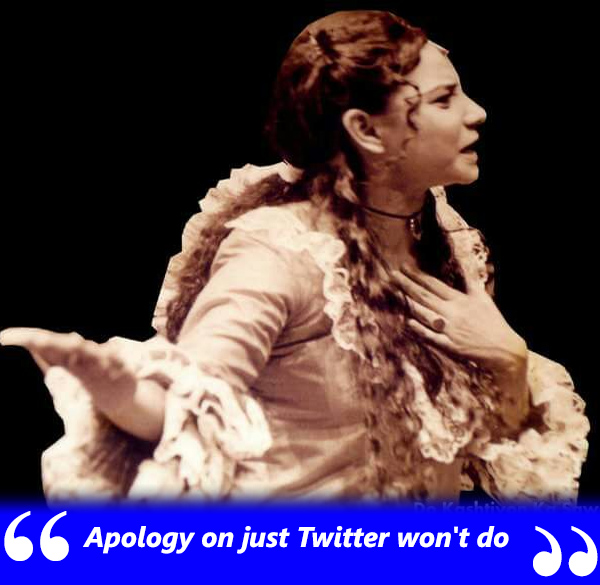 sunita rajwar does not want an apology on twitter from nawazuddin siddiqui