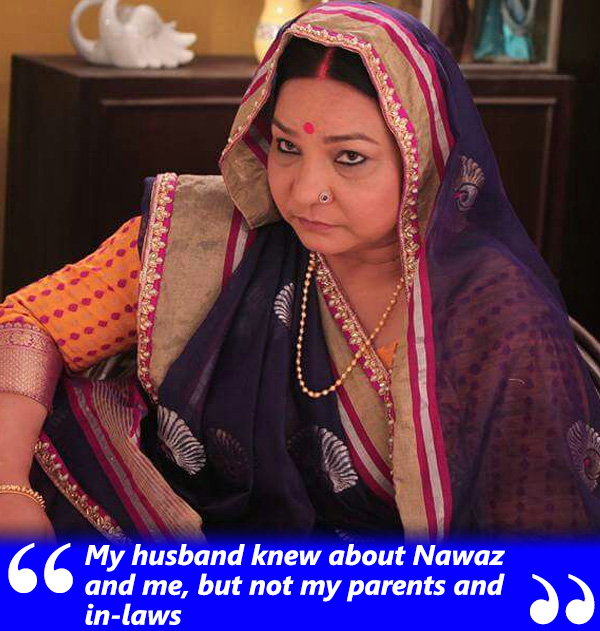 sunita rajwar talks about her husband and in laws coming to know about her relationship with nawaz