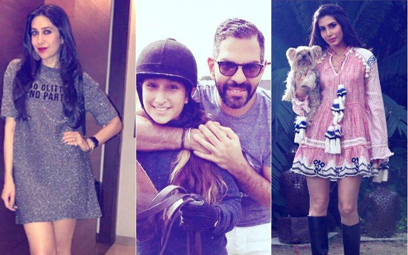 Sunjay Kapur's Wife Priya Shares Darling Pictures Of Karisma's Kids Samaira & Kiaan