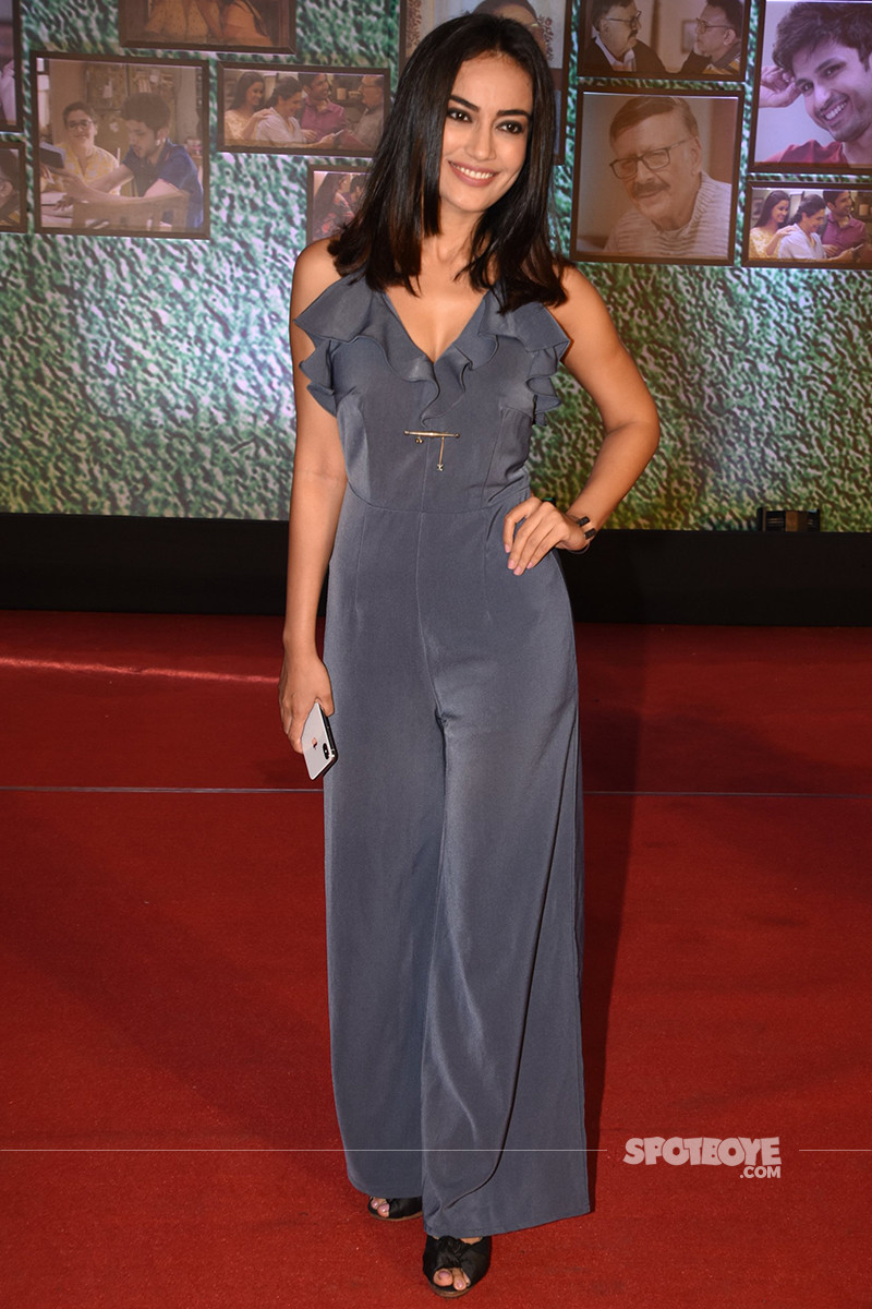 surbhi jyoti snapped at the screening of home