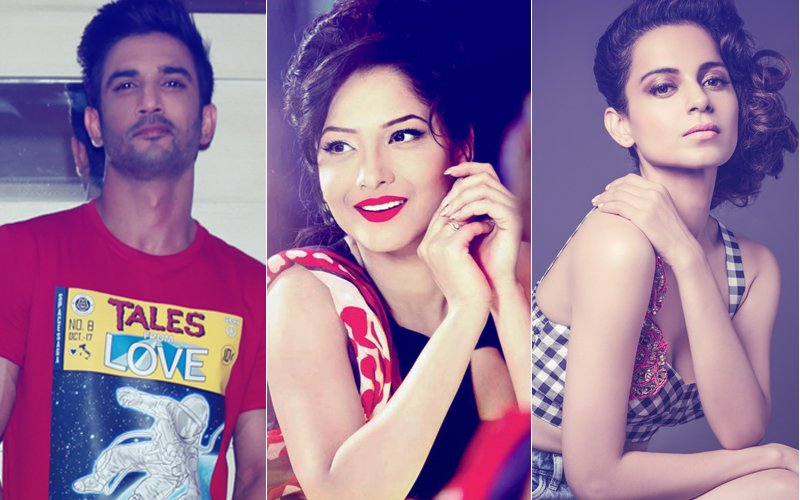 Sushant Singh Rajput's Ex-Girlfriend Ankita Lokhande To Make Her Bollywood Debut With Kangana Ranaut's Manikarnika