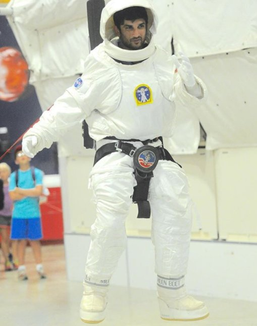 sushant singh rajput as an astronaut