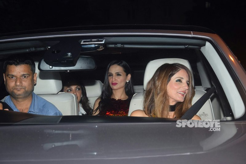 sussanne khan at kaajal anand s 50 th birthday bash