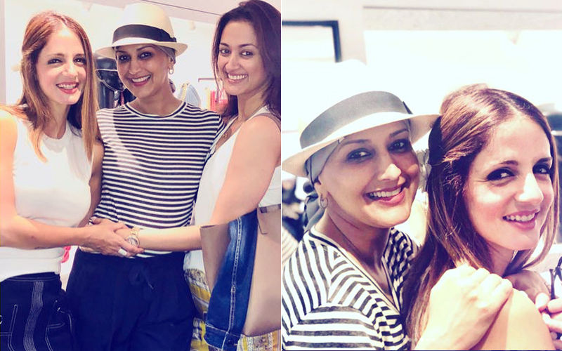 Sonali Bendre's Pictures With Sussanne Khan Prove That Friends Are Her Backbone
