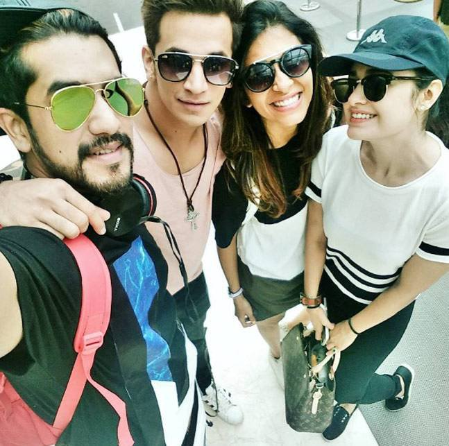 suyyash rai prince narula kishwer merchant and yuvika