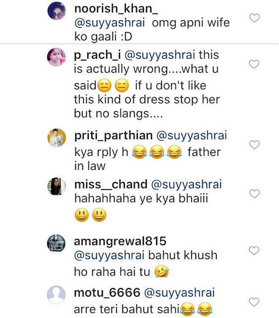 suyyash rai trolled on instagram