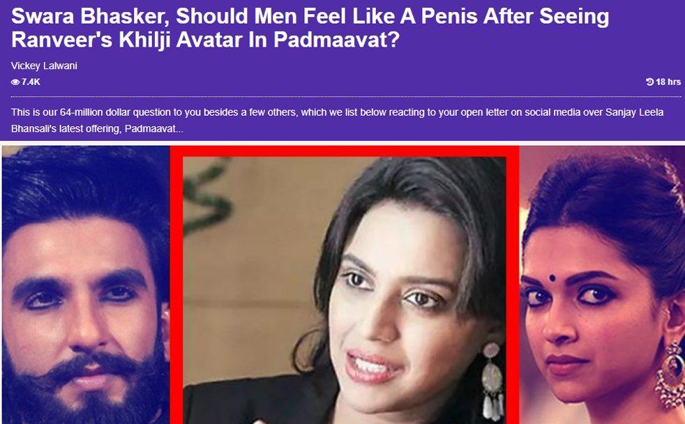 swara bhasker story