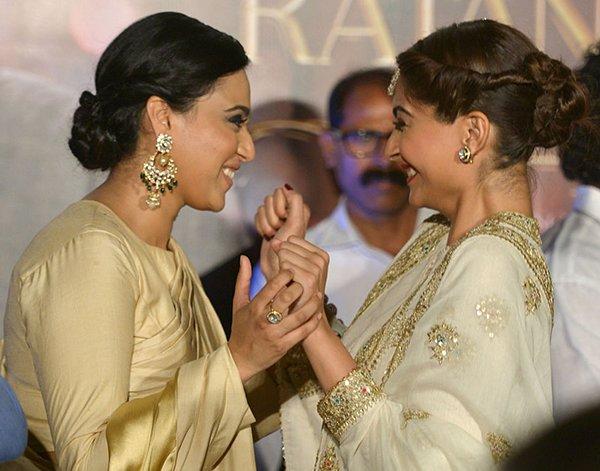 Sonam Kapoor With Swara Bhaskar