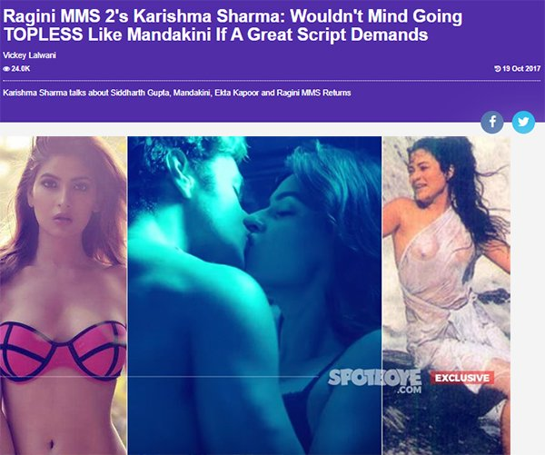 karishma sharma interview