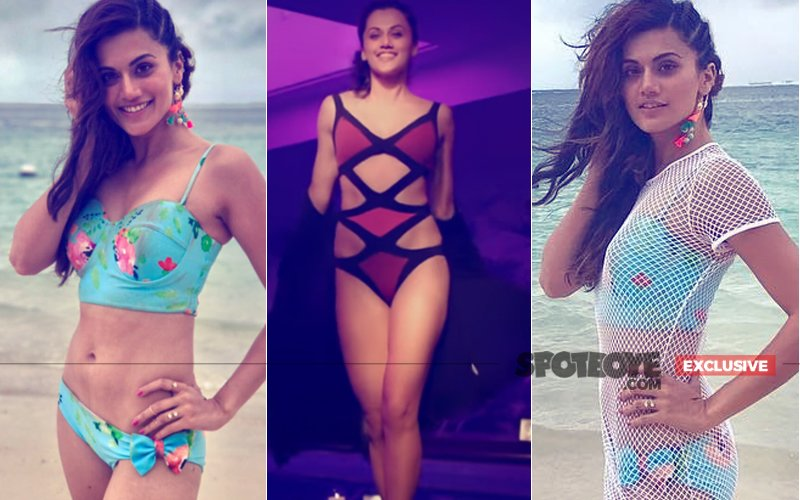 CONFESSIONS: Judwaa 2 Star Taapsee Pannu On BIKINI BODY, FAST DANCING & Lots More