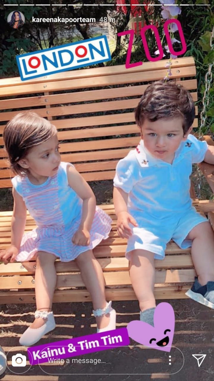 taimur ali khan with kainaat