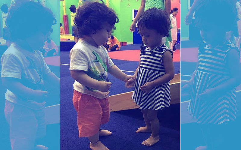 Taimur Has A New Friend In Playschool. Meet Her...