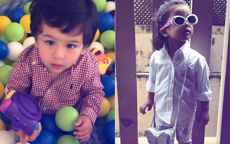 Taimur & Misha's Day Out: How Kareena & Shahid Kapoor's Kids Spent Their Sunday!