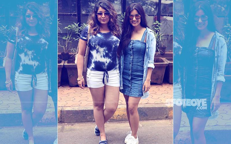 Back In Town, Tanushree Dutta Hangs Out With Sister Ishita Dutta