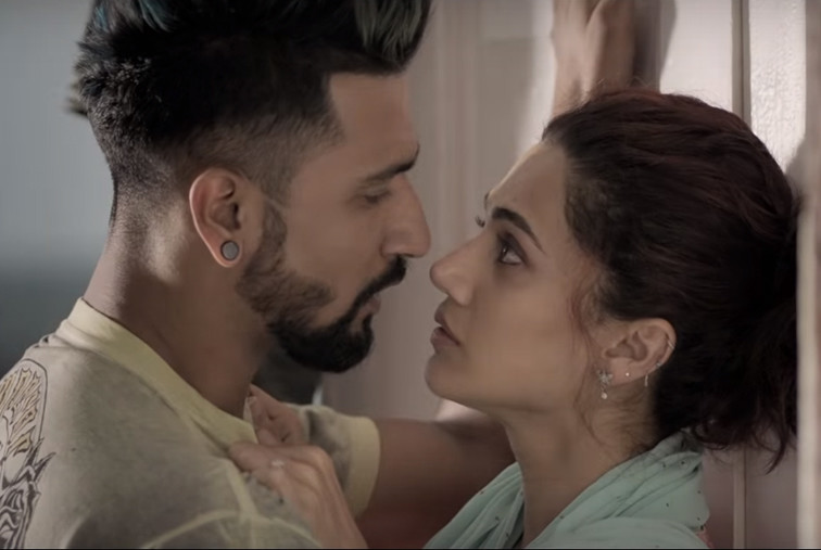 tapsee pannu and vicky kaushal in manmarziya