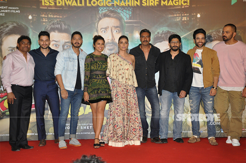 team golmaal again at trailer launch