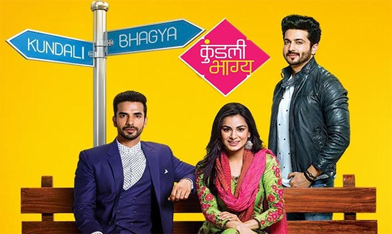 television new show kundali bhagya poster