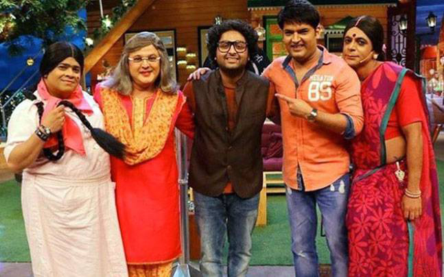 the female cast of the kapil sharma show