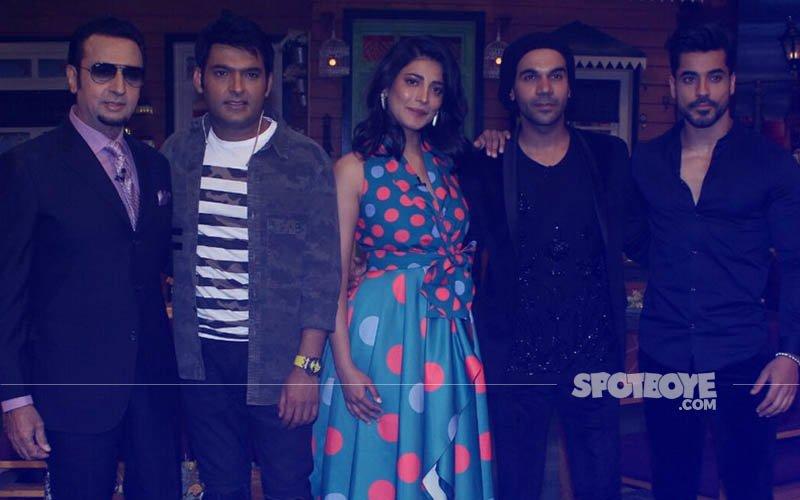Rajkummar Rao, Shruti Haasan, Gautam Gulati On The Sets Of The Kapil Sharma Show