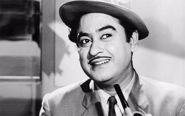 the legendary singer kishore kumar
