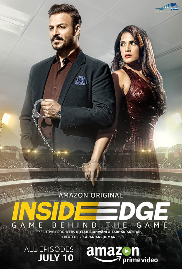 the poster of the web series inside edge