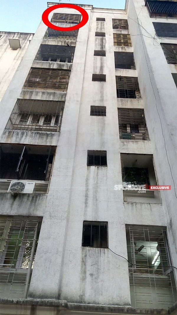 the seventh floor from where raju fell