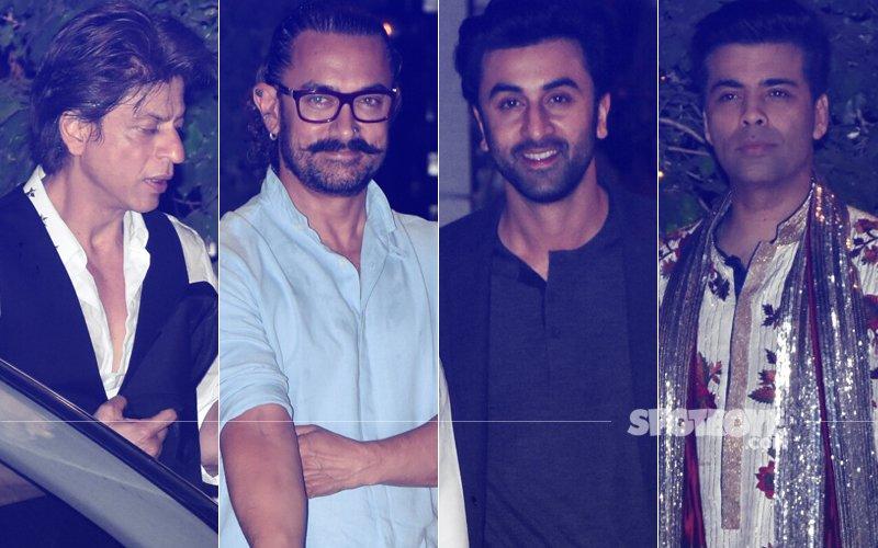 Ambani Brothers Patch-Up: SRK, Aamir, KJo, Sachin At Mukesh's Daughter Isha's Engagement