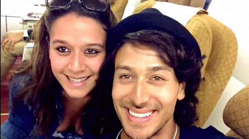 tiger shroff and krishna shroff
