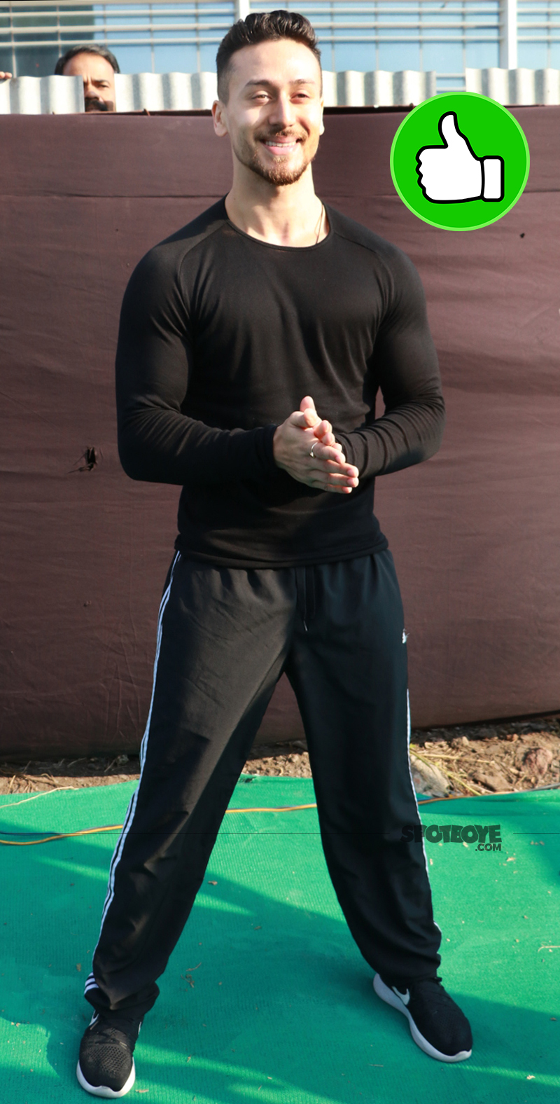 tiger shroff at petathon celebration