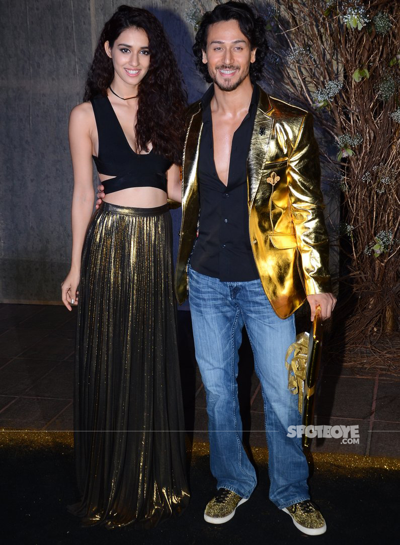tiger shroff disha patani at manish malhotra bash