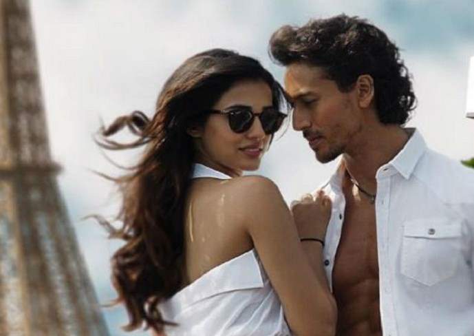 tiger shroff with disha patani