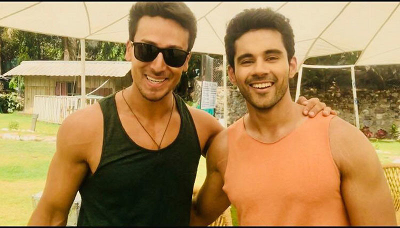 Tiger Shroff And Abhishek Bajaj