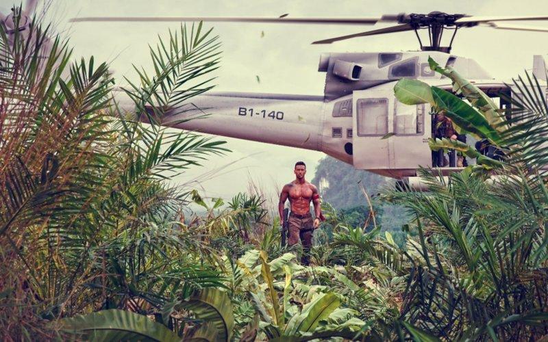 OMG! जान पर खेलकर टाइगर श्रॉफ ने शूट किया फिल्म 'बागी 2' का ये एक्शन सीन